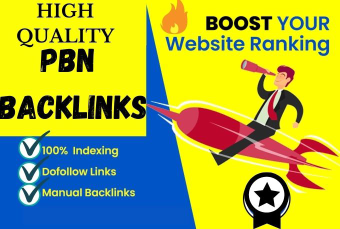 PBN Backlinks 50 High DA PA Quality pbn Backlinks