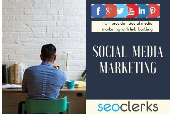 I will offer social networking marketing with 10 back links