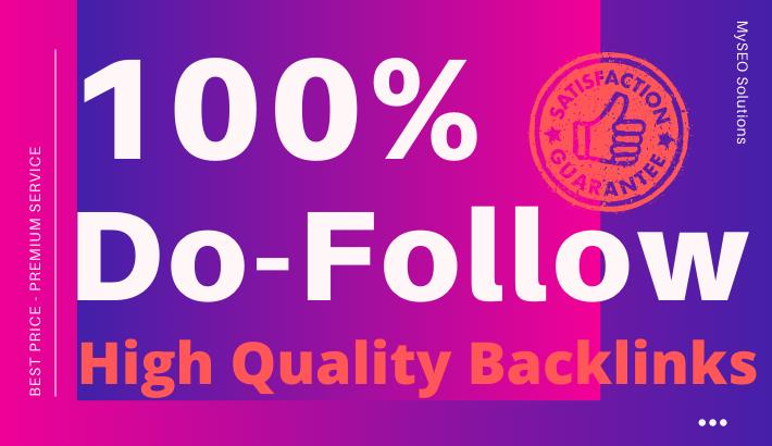 Build 150 High Quality 100 Do-Follow Backlinks - Mix Platforms