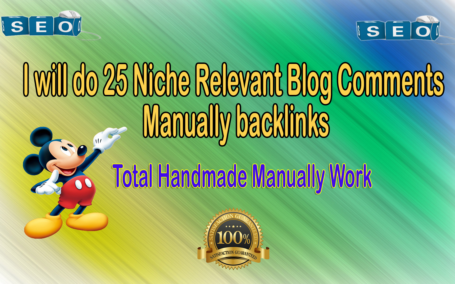 i will do25 Niche Relevant Blog comments Backlinks