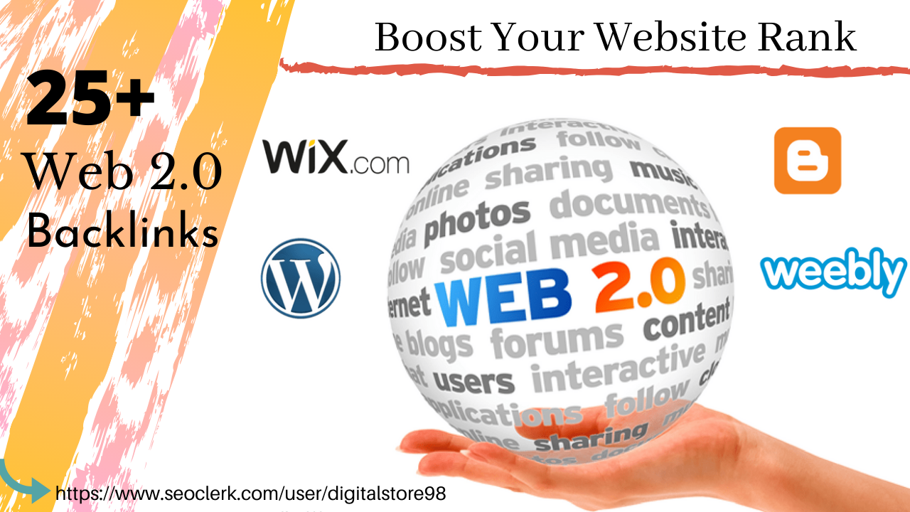 25+ Web2.0 Backlinks From High PA DA Domains To Rank Your Website High on Google