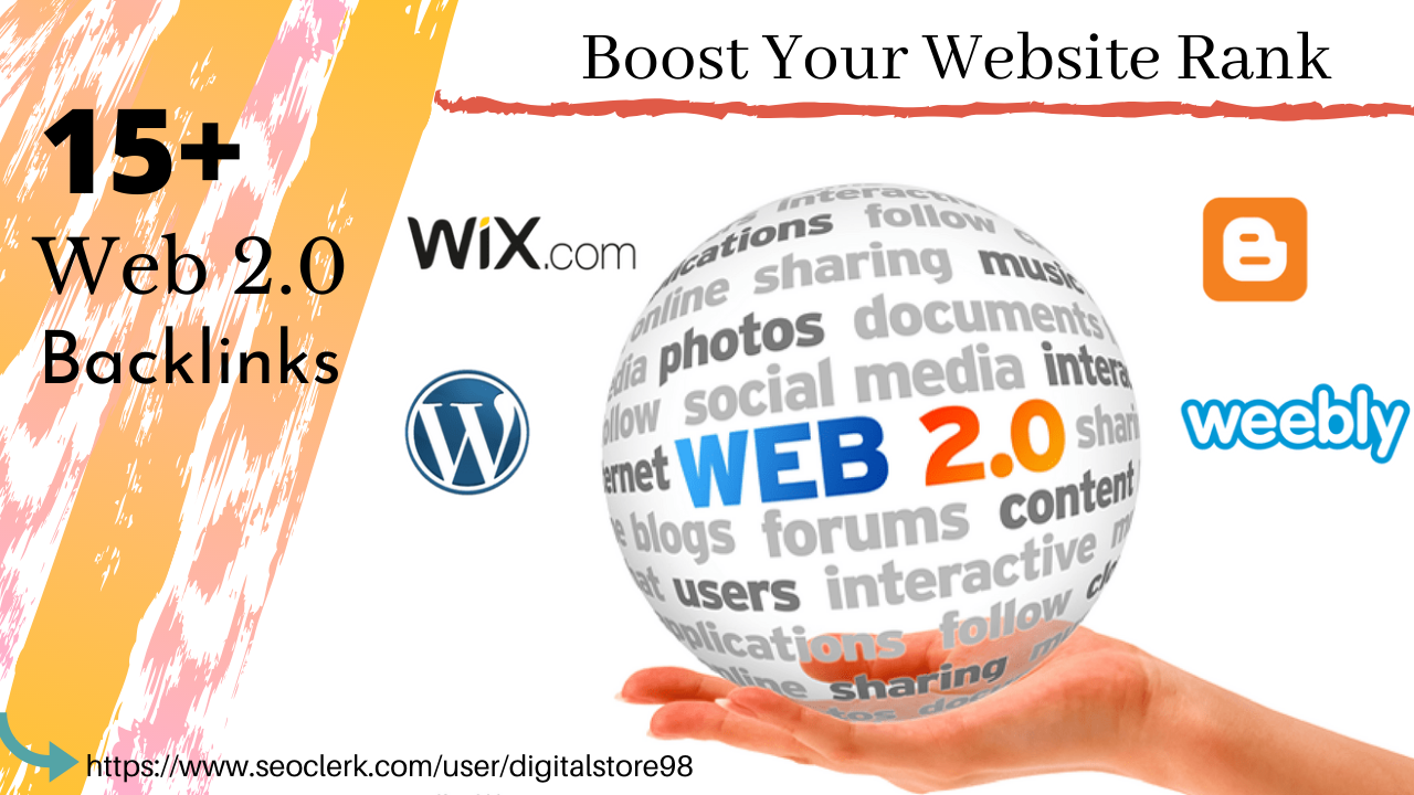 15+ Web2.0 Backlinks From High PA DA Domains To Rank Your Website High on Google