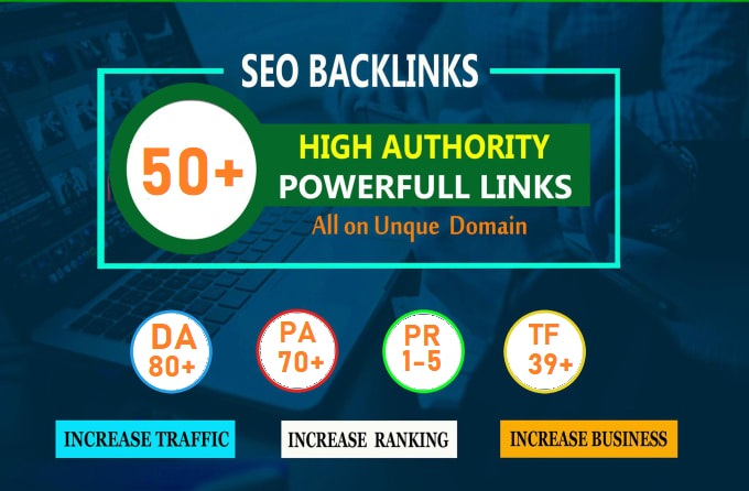 CREATE MANUALLY DA80+ PA70+ web 2.0 50 Powerful WEB2.0 backlinks 50 unique site