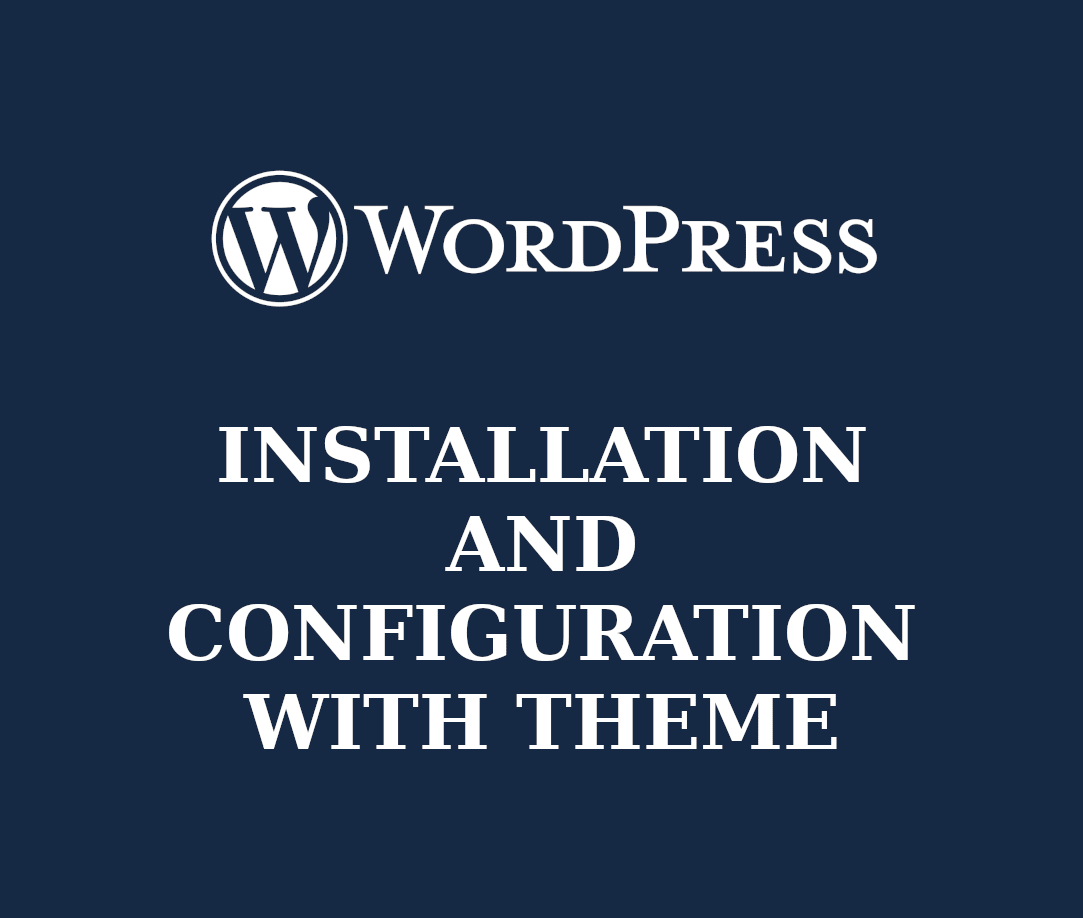 I will install and setup a wordpress website