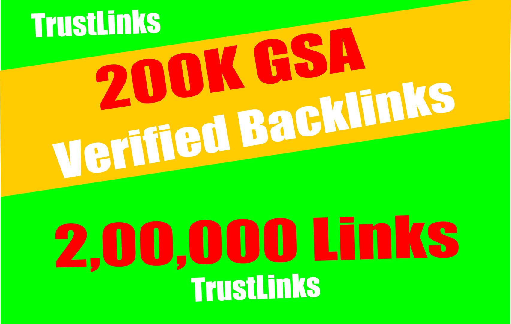 Add Seo 200,000 Gsa Dofollow high Quality backlinks for Google Top Ranking