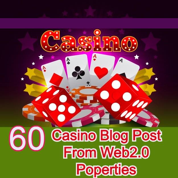 60 High Authority Casino Blog Post From Web2.0 Popertics