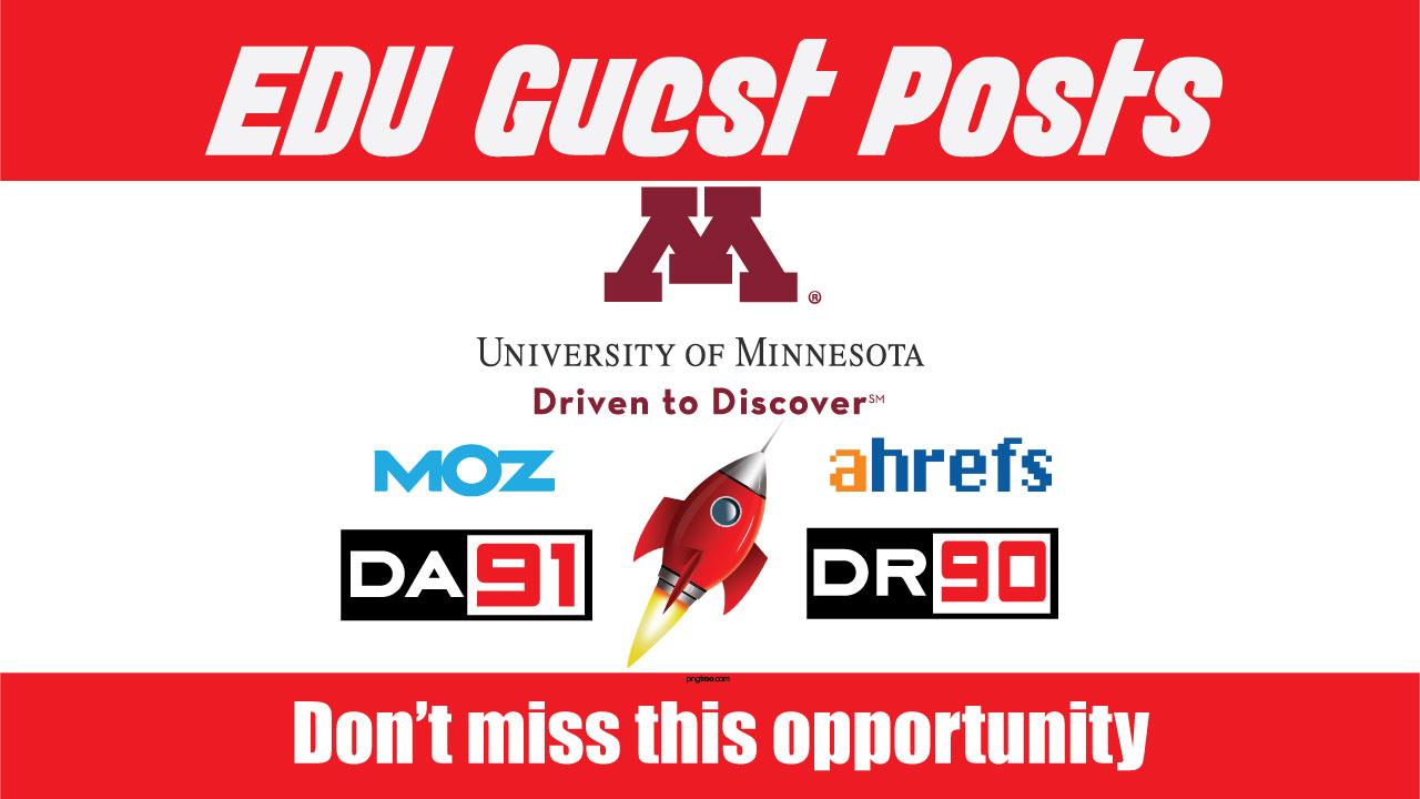 EDU Guest Post on UMN - DA91,  DR90 - DoFoIIow Link