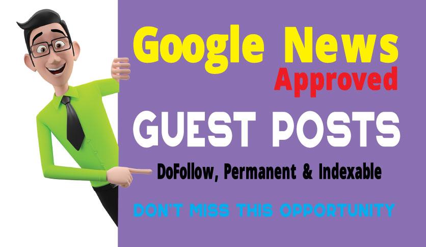 Guest Post on Google News Approved Real Blog - DA67,  DR41