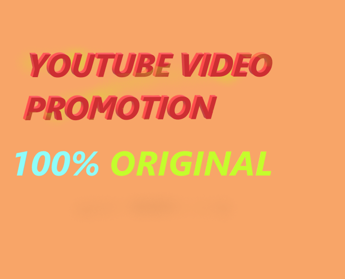 YouTube Video Promotion & Marketing NON DROP