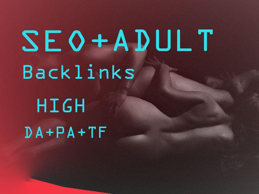 Provide 2020 latest unique 200+ HQ edu. gov. link building & backlinks for Adult site