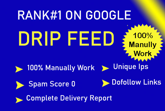 Do 30 days off page seo with high quality dofollow backlinks