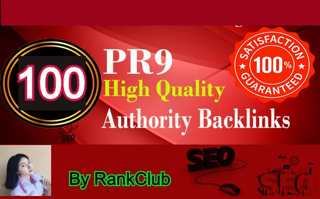 100 Authority Backlinks For Your Website or Blog or YouTube