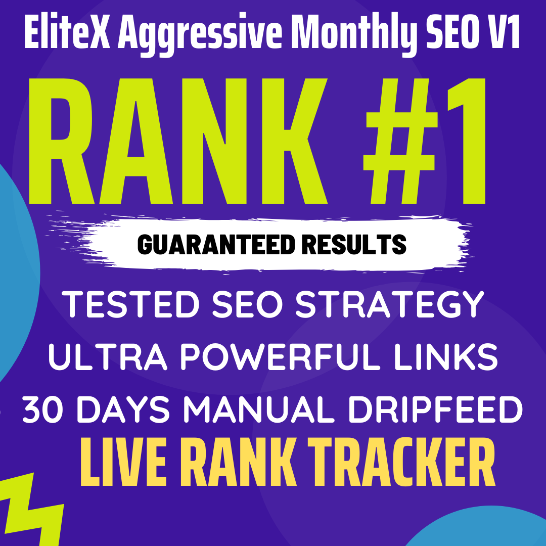 Create manual 30 days off-page seo with high quality dreepfeed dofollow backlinks