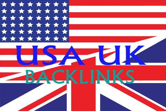 Create 50 USA UK high da pr Backlinks safe seo links