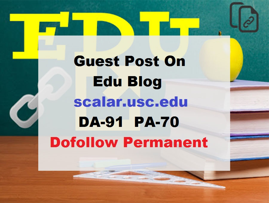 Guest Post On University Of Southern CAlifornia-Usc. edu-DA91
