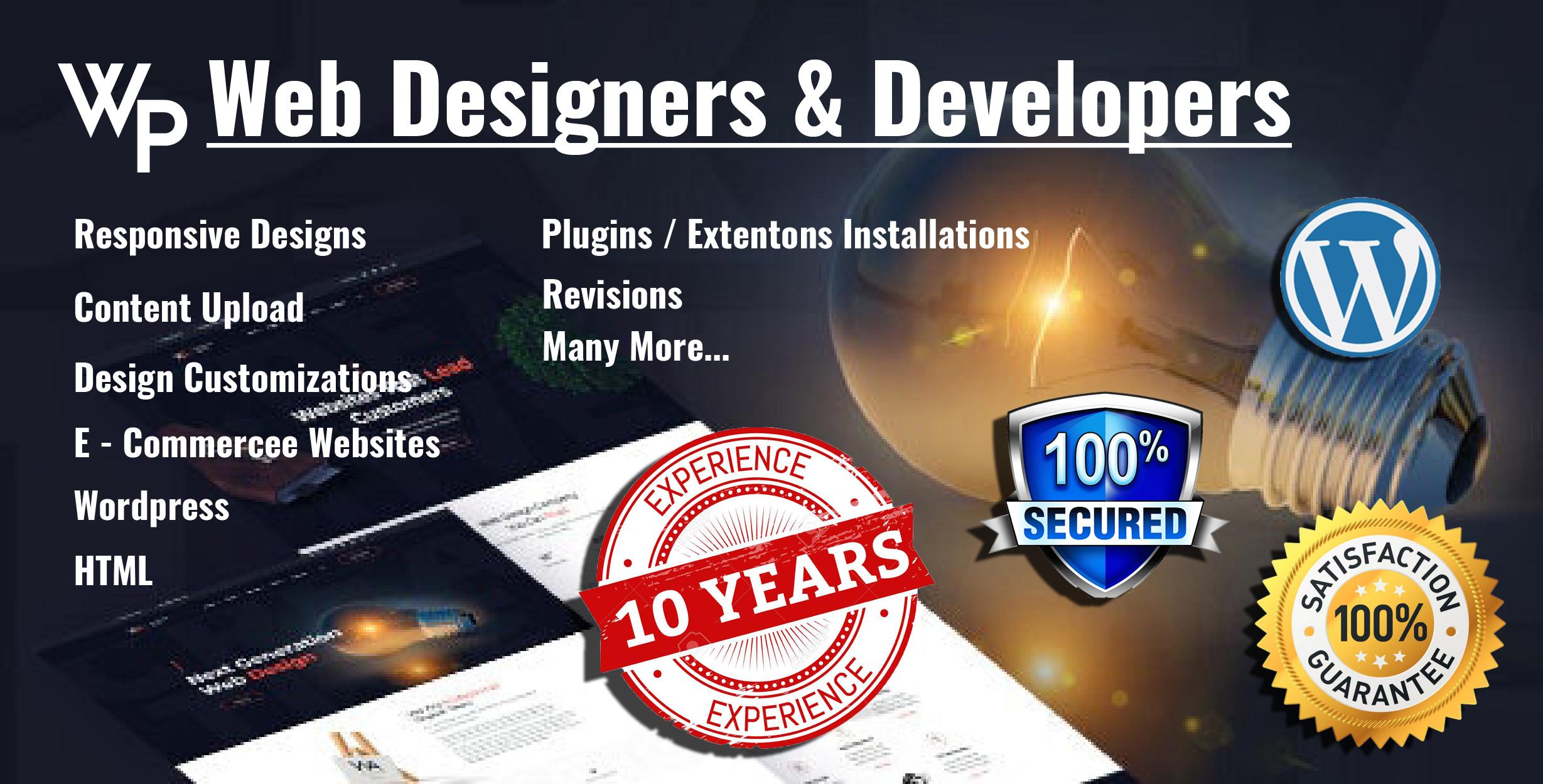 Word press,  Bogger Web Developer And Website Designer