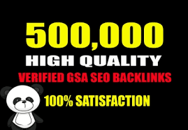 I will Build 500,000 high authority quality SEO dofollow backlinks