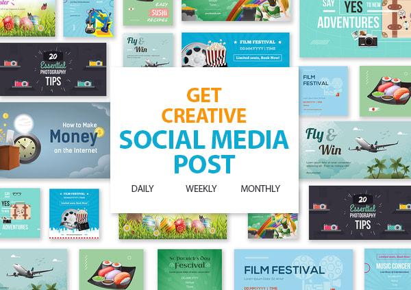 I will design social media design,  posts