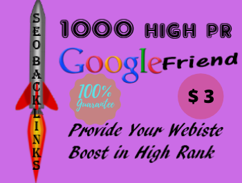 I will create 1000 do follow High PR4-PR7 Backlinks