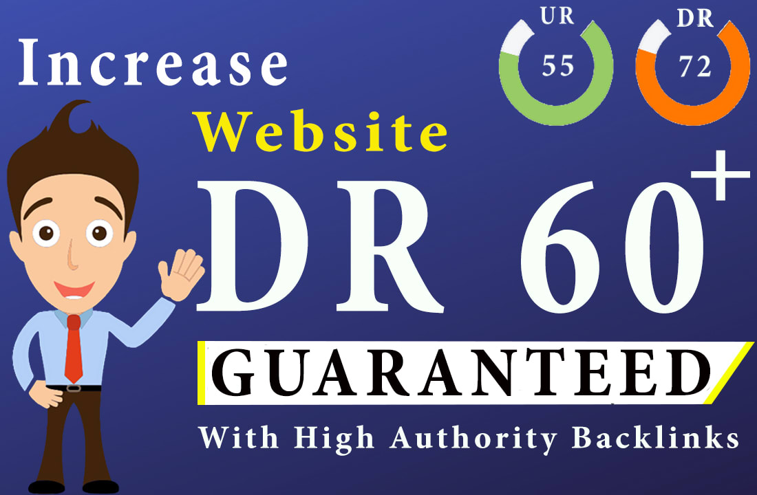 increase domain rating ahrefs DR and domain authority da