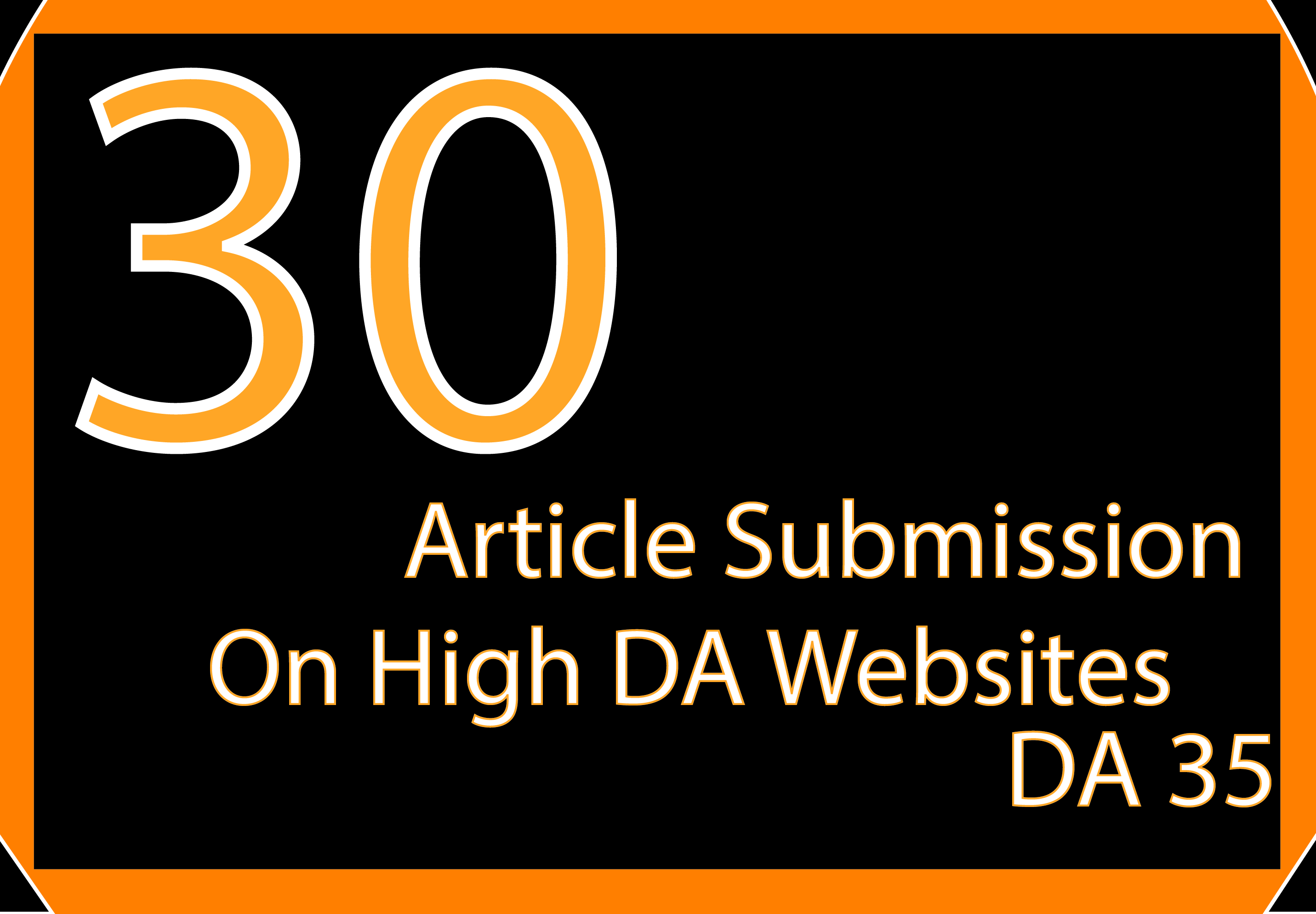 I Will Post on DA 35 SEO Backlinks 35 Article Submission