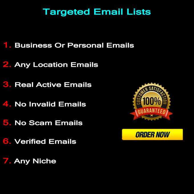 I Will Find 1000 Targeted Emails For You And Your Business