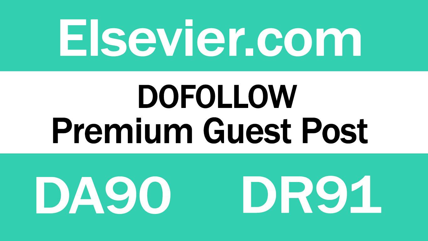 Guest Post on Elsevier. com - DA90