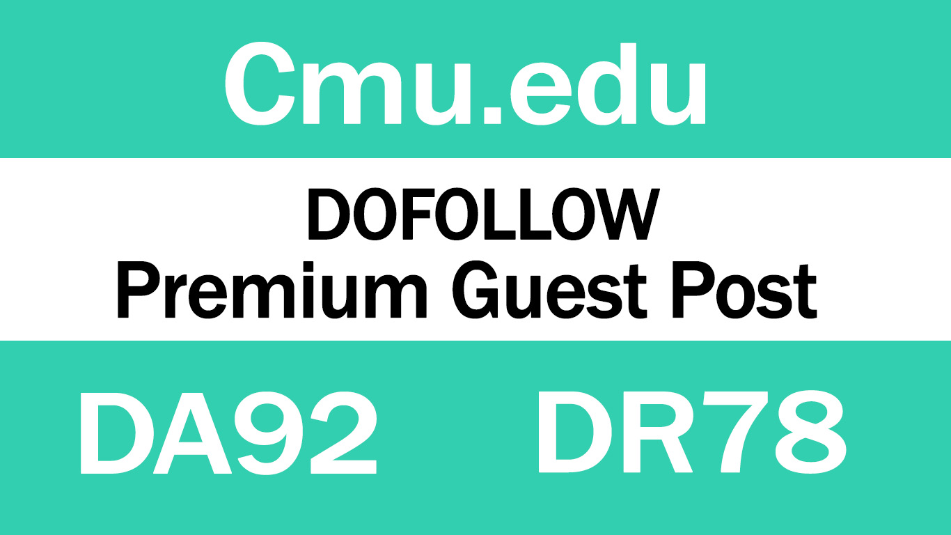 Guest Post on Cmu. edu - DA92 DR78