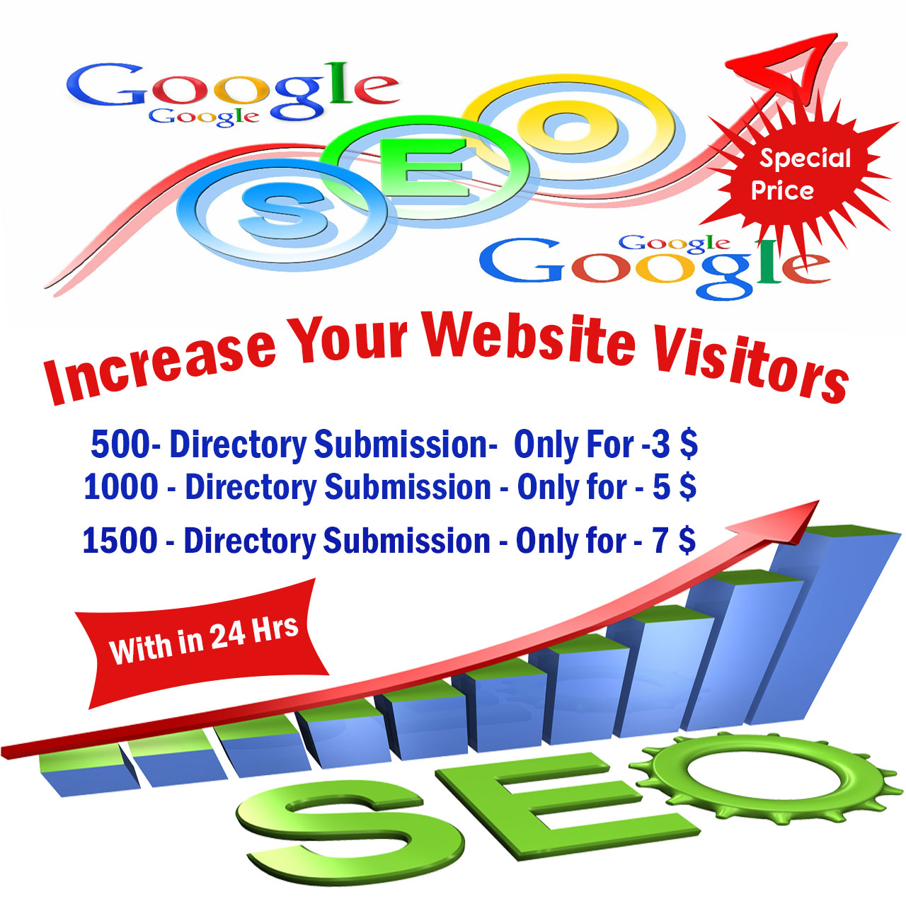 I will submit website to 500 directories within 24 hours