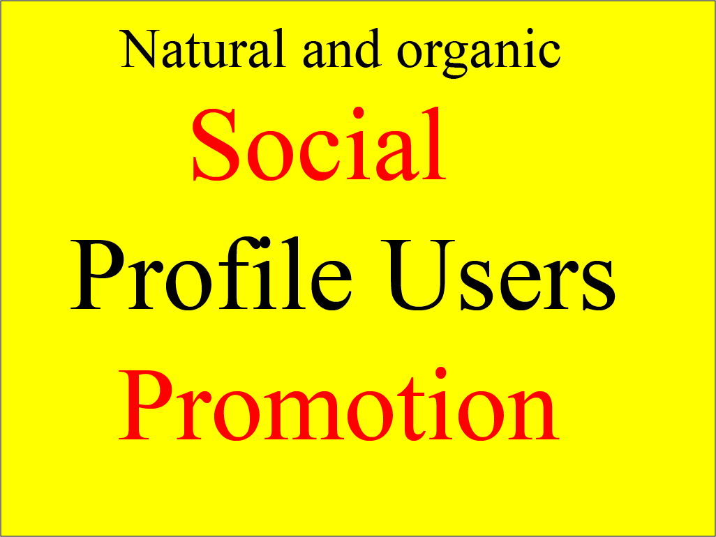 Add Instant HQ Social Profile Users Promotion
