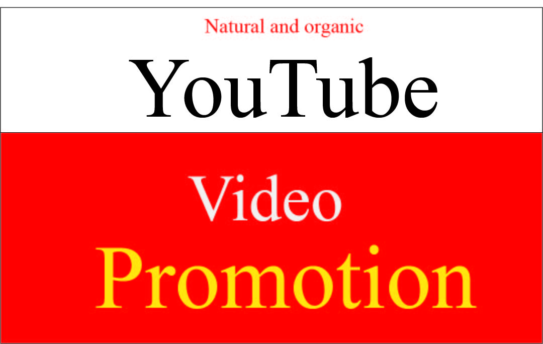 I will do super Fast organic youtube promotion for super growth