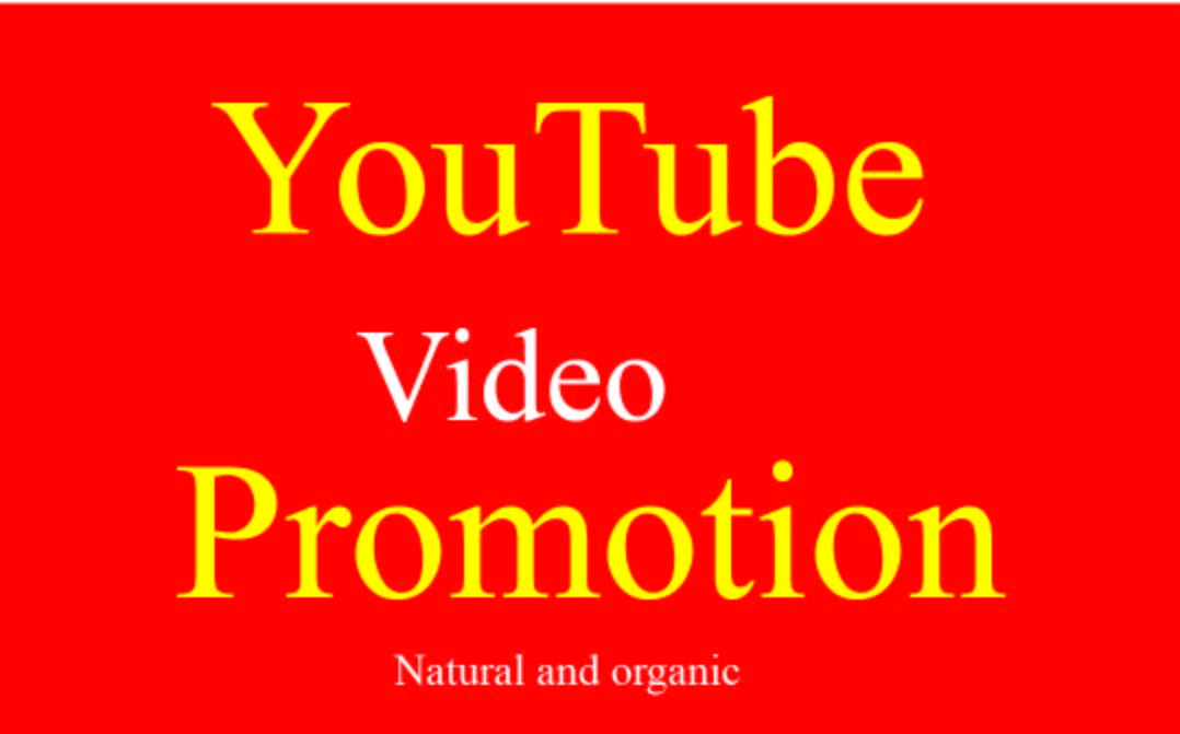 I will do best Youtube Package Video promotion