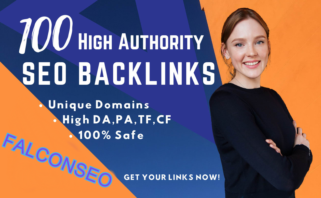 I will create 100 High Quality Unique Domain SEO Backlink On High PR 100 Sites Boost your Website