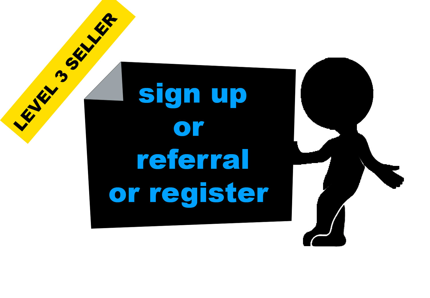 Give You 45 HQ signups or registration under any websites,  affiliate links or referral