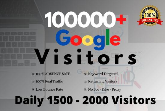 drive keyword targeted UNLIMITED web traffic