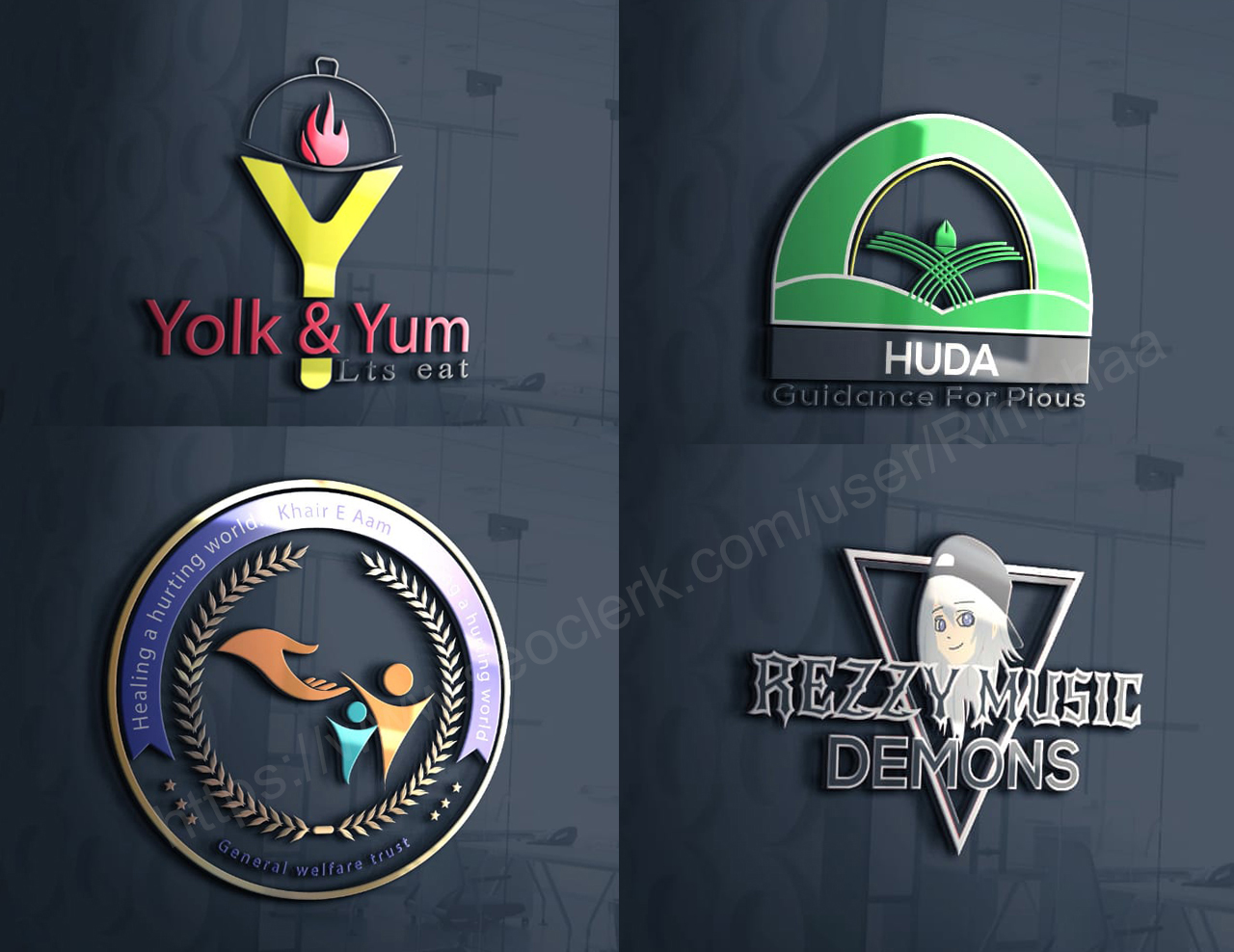 I will design professional business logo with copyrights