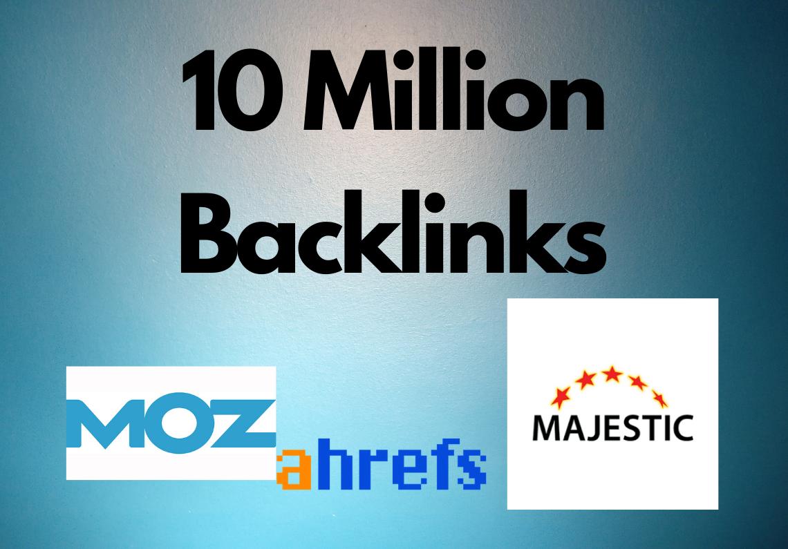10 Million GSA SER backlinks for websites,  videos,  Channels,  Products Multi tire backlink