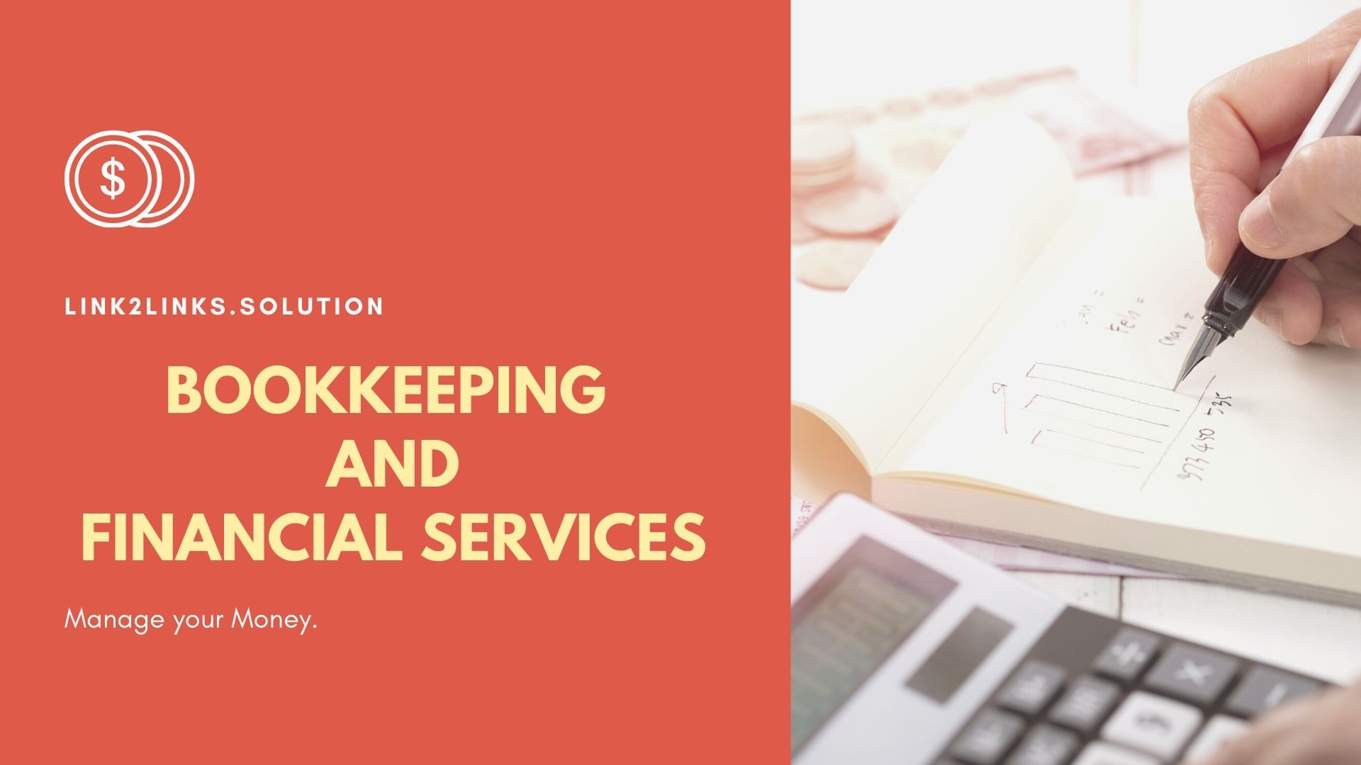 I will do your bookkeeping and accounting work