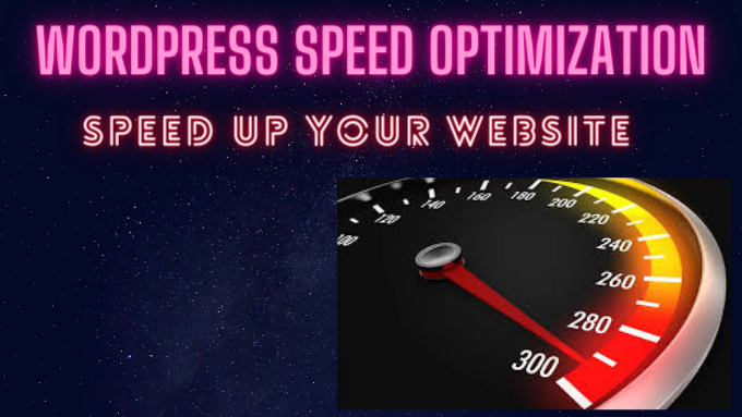 I will optimize the speed of your wordpress website