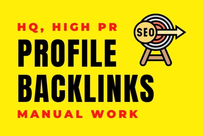 I Will Create 40 SEO Profile Backlinks on DA 80+