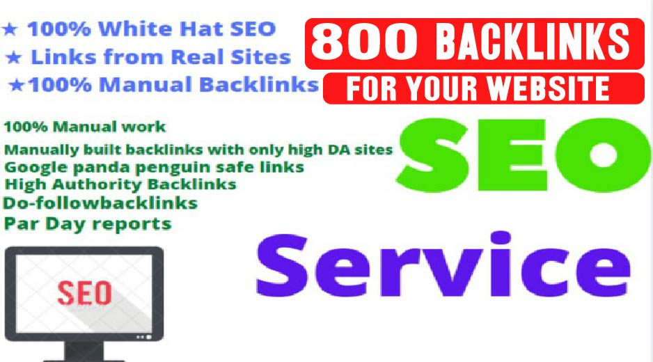 Build Up All In One 800 Manual SEO Link Building Package GOOGLE Ranking For Your Website