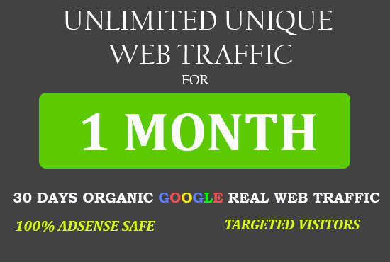 Send targeted UNLIMITED Quality web traffic to your website