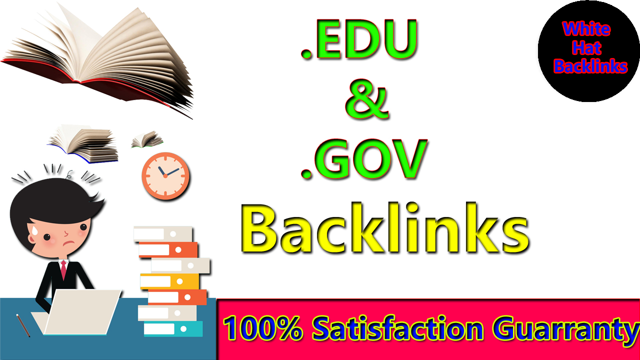 Manually create 100. EDU. GOV Dofollow Backlinks From Authority Site with google ranking