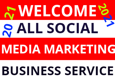 Social media marketing all in one promotion supper service