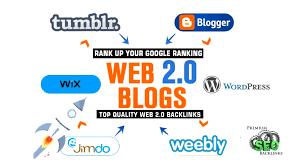 I will do 100 dofollow web 2.0 contextual blog post SEO backlinks
