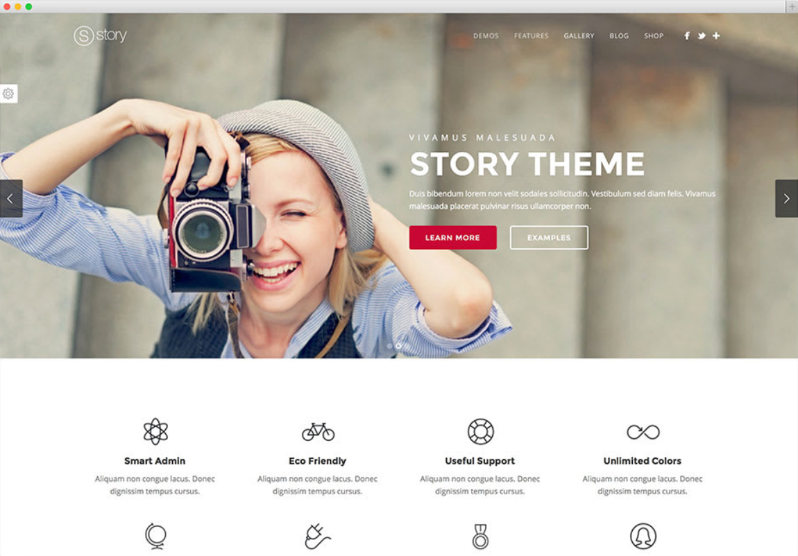 I will design a professional landing page for you