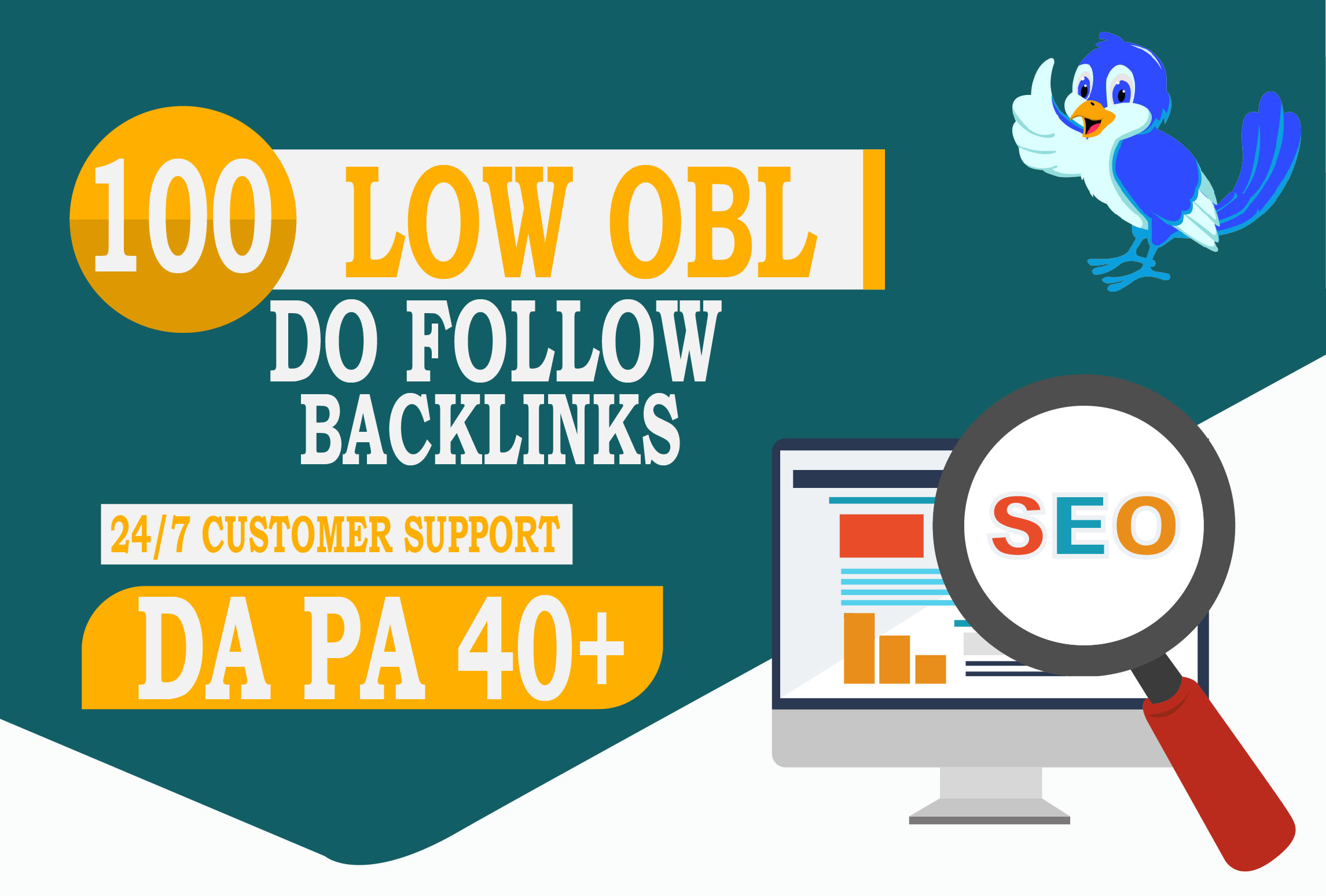 I will do 40 low obl blog comments