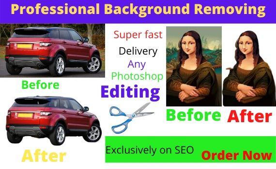 I will do Background Removal 10 images