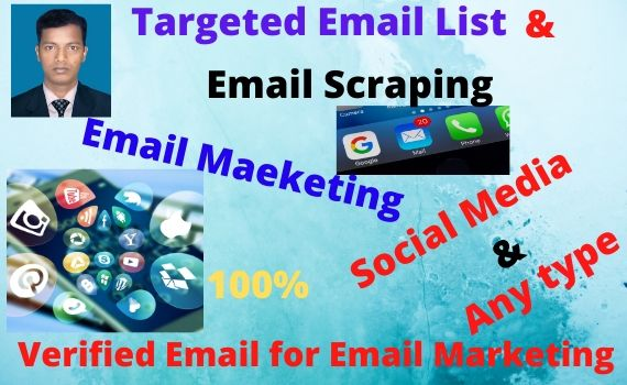 I will list over 2k targeted emails of high quality only just