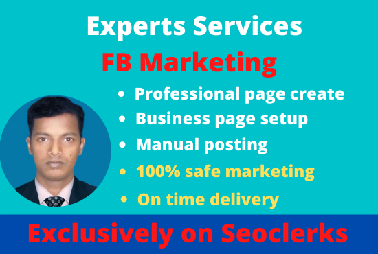I Well be setup a professional FB page for your business